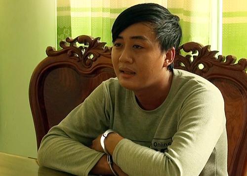 Nguyễn Minh Thanh tại cơ quan điều tra. Ảnh: Phước Minh.