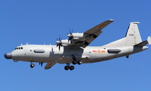 Một máy bay trinh sát Y-9 của không quân Trung Quốc. Ảnh: Airliners.net.