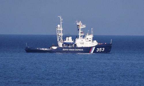 Tàu tuần tra Nga