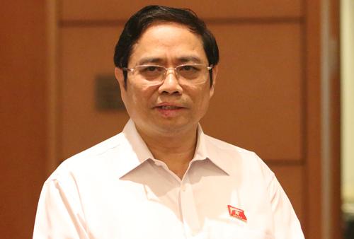 Trưởng ban Tổ chức Trung ương Phạm Minh Chính. Ảnh: Võ Hải