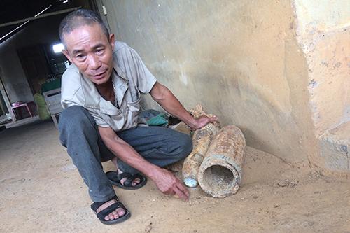 Ông Phạm Văn Phương nói thời thanh niên tháo bom như để chứng tỏ bản thân.Ảnh:Hoàng Táo
