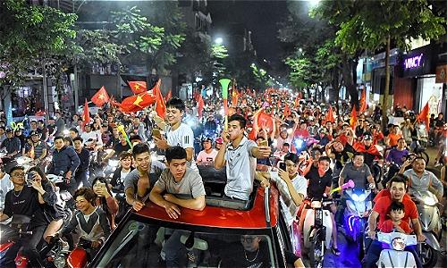 Cả nghìn cảnh sát đảm bảo trật tự trận Việt Nam-philippines ở Mỹ Đình