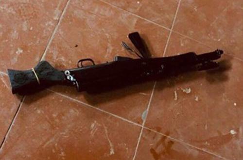 Khẩu súng CKC bị thu giữ. Ảnh: Công an Thái Nguyên.
