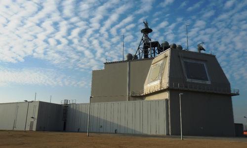 Tổ hợp Aegis Ashore được Mỹ đặt tại Romania. Ảnh: Lầu Năm Góc.
