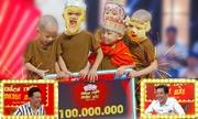 5 chú tiểu lấy 100 triệu đồng 'Thách thức danh hài' trong chớp mắt