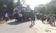 Người dân Hà Tĩnh lại kéo ra tỉnh lộ chặn xe chở rác