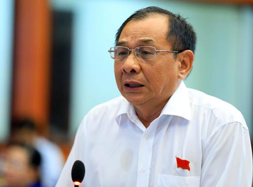 Đại biểu HĐND TP HCM Trần Quang Thắng. Ảnh: Hữu Khoa