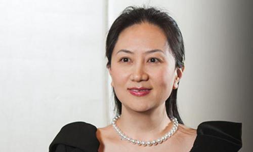 Giám đốc tài chính tập đoàn Huawei Mạnh Vãn Châu. Ảnh: Twitter.