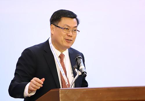 Giáo sư dịch tễ học Nguyễn Văn Tuấn phát biểu tại hội nghị. Ảnh: Nguyễn Đông.