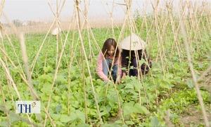 Hội phụ nữ xã Tân Đức hỗ trợ vốn để nông dân khởi nghiệp