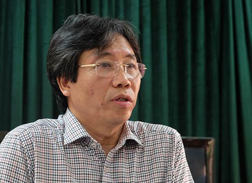 Trưởng phòng Giáo dục quận, ông Tạ Ngọc Thắng. Ảnh: Quỳnh Trang