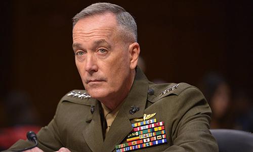 Chủ tịch Hội đồng Tham mưu trưởng Liên quân Mỹ, đại tướng . Ảnh: AFP