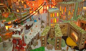 'Thành phố bánh gừng' tưng bừng đón Giáng sinh