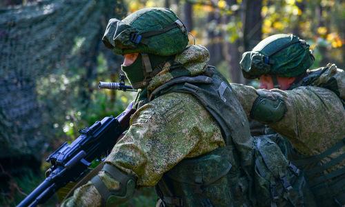 Lính đặc nhiệm VDV trong huấn luyện. Ảnh: RBTH.