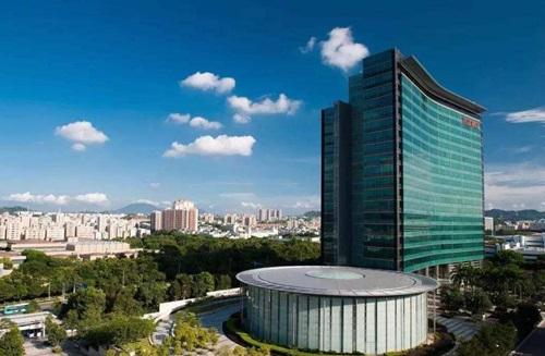 Trụ sở tập đoàn Huawei tại Thâm Quyến, Trung Quốc. Ảnh: CNBC.