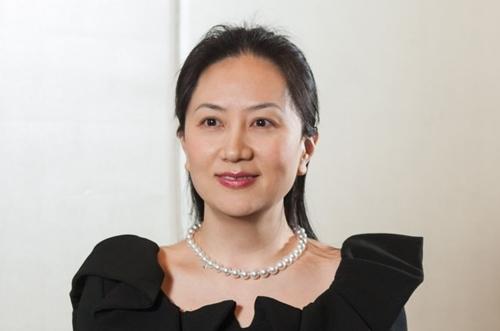 Mạnh Vãn Chu, con gái lớn của Nhậm Chính Phi. Ảnh: SCMP.