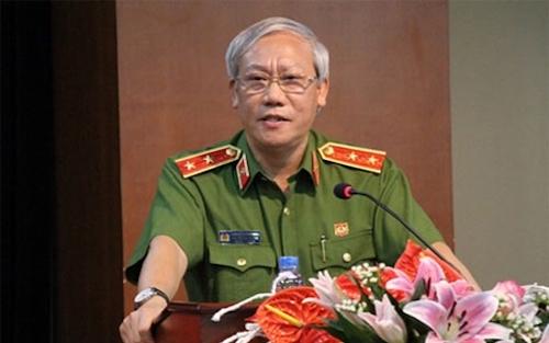 Trung tướng Nguyễn Công Sơn, nguyên Phó tổng cục trưởng Tổng cục Cảnh sát. Ảnh: CAND