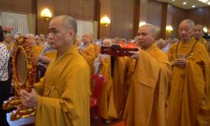 Phật tử TP HCM tưởng niệm 710 năm Phật hoàng Trần Nhân Tông