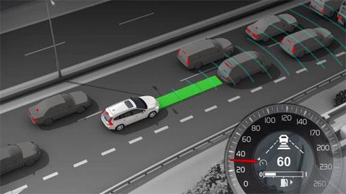 Điều khiển hành trình chủ động là hệ thống tự động kiểm soát tốc độ.