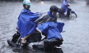 Nhiều tỉnh miền Trung mưa lớn, ngập sâu