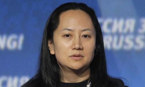 Giám đốc tài chính tập đoàn Huawei Mạnh Vãn Chu. Ảnh: AFP.