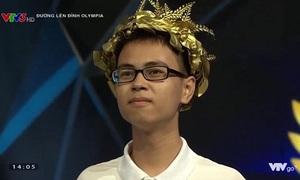 Nam sinh xứ Nghệ giành vé đầu tiên vào chung kết Olympia 19