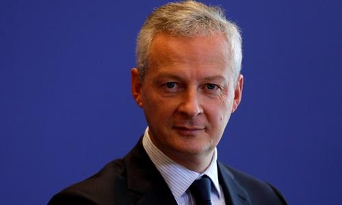 Bộ trưởng Tài chính Pháp Bruno Le Maire. Ảnh: Reuters.
