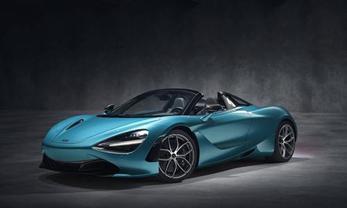 Siêu xe mui trần 720S Spider mới ra mắt của McLaren.