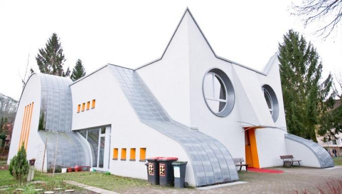 Trường mẫu giáo hình mèo ở Đức