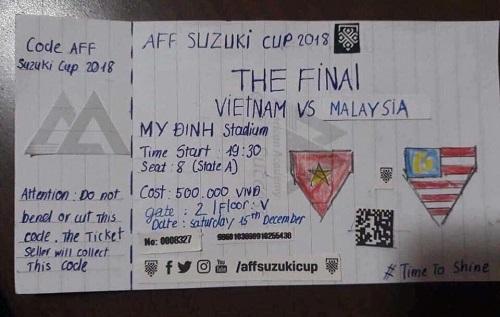 Vé chợ đen chung kết AFF Cup 2018.
