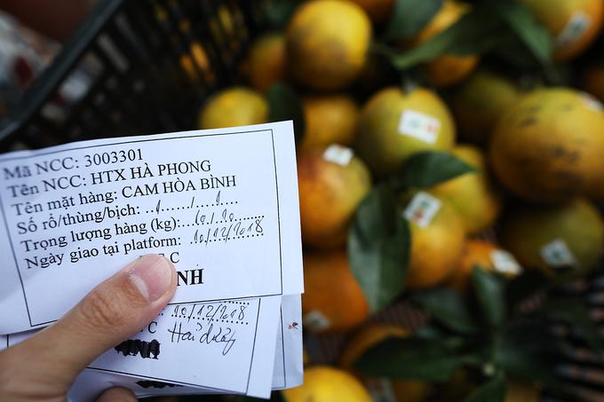 Cam Cao Phong giá 20.000 đồng mỗi kg khi vào chính vụ