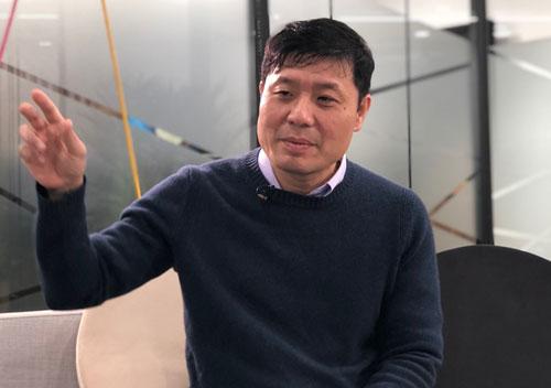 GS Vũ Hà Văn. Ảnh: BN.