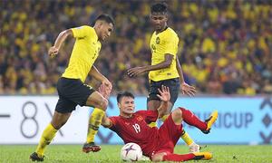 Malaysia 2-2 Việt Nam