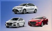 10 ôtô bán chạy nhất tháng 11 - Vios giữ vững đỉnh bảng