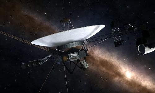 Tàu Voygager 2 đã bay gần 18 tỷ km tính từ Trái Đất. Ảnh: Reddit.