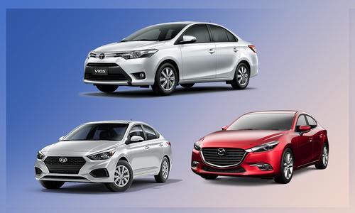 10 ôtô bán chạy nhất tháng 11 – Vios trở lại đỉnh bảng
