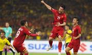 Khoảnh khắc 'nổ tung' ăn mừng khi tuyển Việt Nam ghi bàn