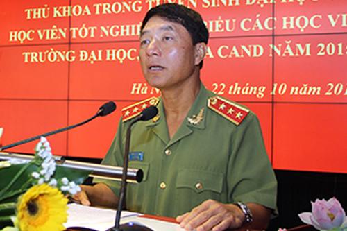Nguyên thứ trưởng Trần Việt Tân. Ảnh: CAND.