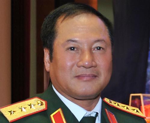 Thượng tướng Phương Minh Hoà. Ảnh: TTX