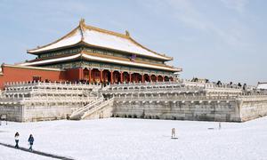 Hệ thống bí mật sưởi ấm Tử Cấm Thành trong mùa đông