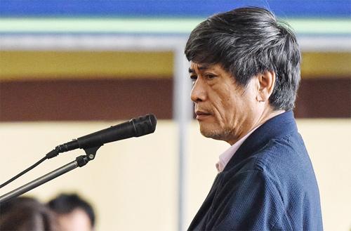 Cựu cục trưởng C50 bị phạt 10 năm tù về tội Lợi dụng chức vụ quyền hạn trong khi thi hành công vụ. Ảnh: Giang Huy