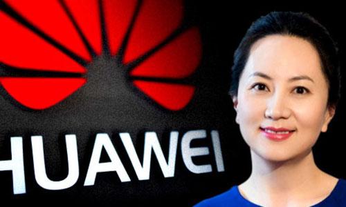 Bà Mạnh Vãn Châu là giám đốc tài chính của tập đoàn công nghệ Huawei, Trung Quốc. Ảnh: NewDaily.