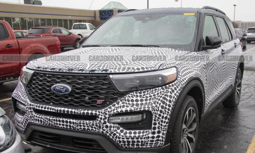 Ford Explorer 2020 xuất hiện trên đường thử tại Mỹ.