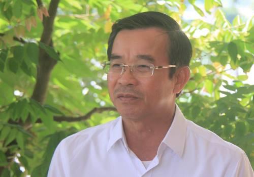 Ông Đàm Quang Hưng - Chủ tịch UBND quận Liên Chiều. Ảnh: Thanh Hiếu.
