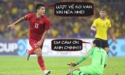 Ảnh chế lý do Việt Nam không ghi thêm bàn thắng vào lưới Malaysia