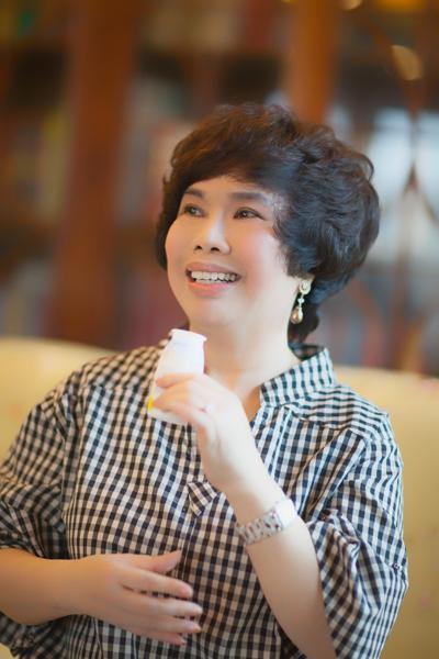 Bà Thái Hương- Nhà sáng lập tập đoàn TH kiên định với con đường sữa tươi sạch.