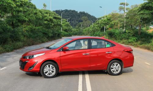 Toyota Vios, mẫu xe bán chạy nhất thị trường tháng 11/2018. Ảnh: Đức Huy.
