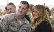 Melania Trump lần đầu ngồi vận tải cơ thần tốc 'Chim ưng biển'