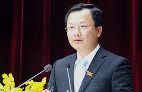 Tân Phó chủ tịch tỉnh Quảng Ninh Cao Tường Huy, 45 tuổi. Ảnh: PV