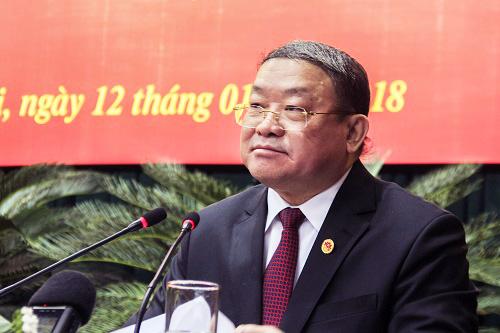 Chủ tịch Hội Nông dân Việt Nam Thào Xuân Sùng. Ảnh: Dương Tâm.